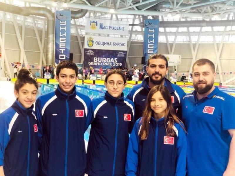 Şehitkamilli yüzücüler başarıyla döndü