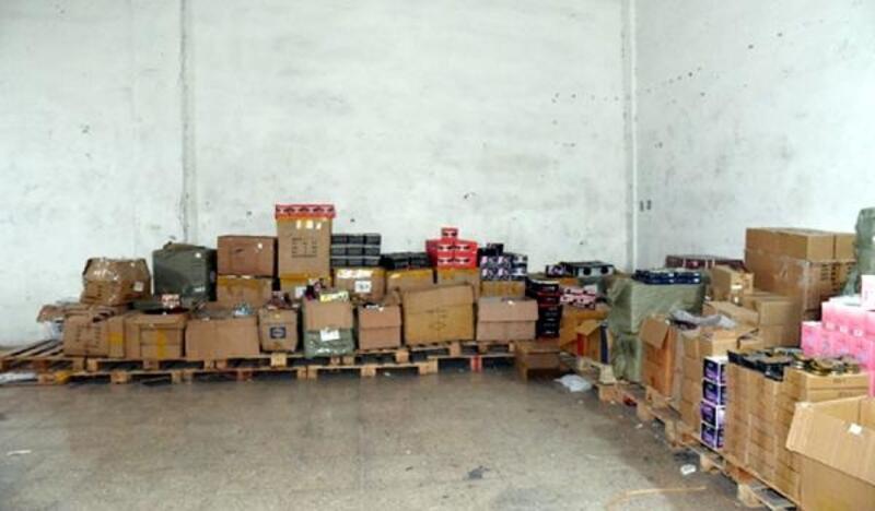 Gaziantep'te, kaçak kozmetik operasyonu: 3 gözaltı