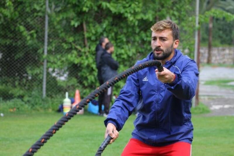Hatayspor Altay maçının hazırlıklarını sürdürüyor