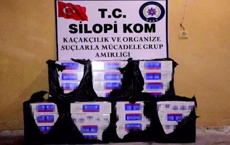 Silopi'de kaçakçılık operasyonu: 4 gözaltı