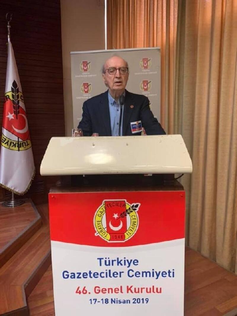 Turgay Olcaytu TGC Başkanlığına yeniden seçildi