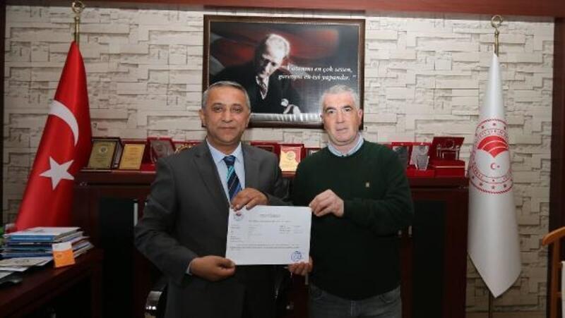 Düziçi'nde bir işletme 'Hastalıktan ari' sertifikası aldı