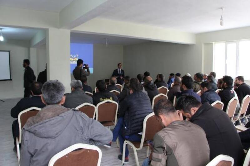 Şemdinli'de Küçük Sanayi Sitesi tamamlandı