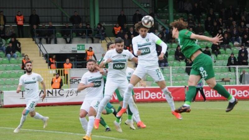 Giresunspor-Abalı Denizlispor: 0-3