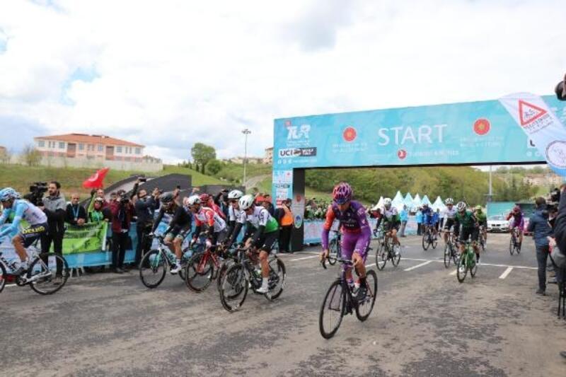 Cumhurbaşkanlığı Bisiklet Turu'nun Sakarya-İstanbul etabı başladı