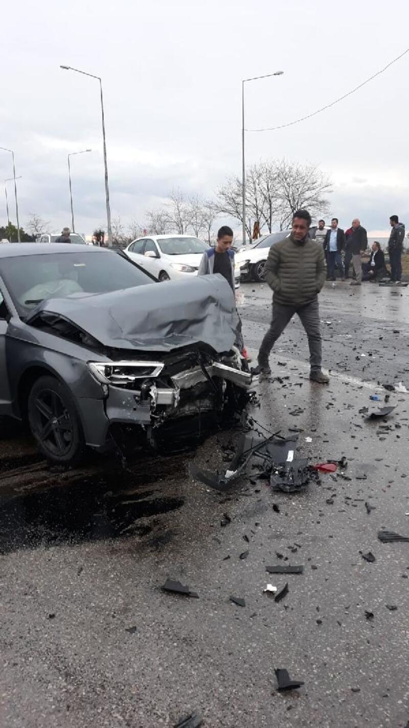 Trabzonspor'un genç yıldızı Hüseyin Türkmen kaza geçirdi