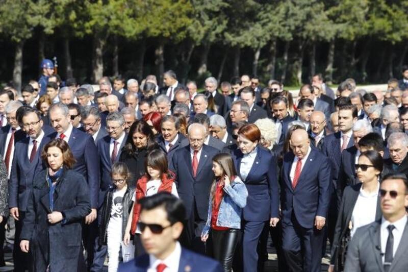 TBMM'nin kuruluş yıl dönümü ve 23 Nisan, Ankara'da törenlerle kutlandı