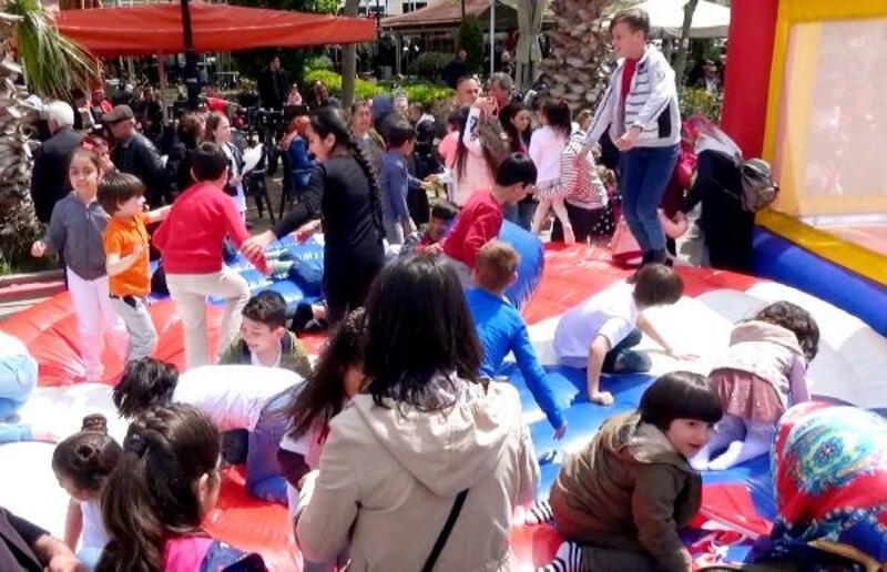 Silivri'de 23 Nisan Ulusal Egemenlik ve Çocuk Bayramı coşkuyla kutlandı