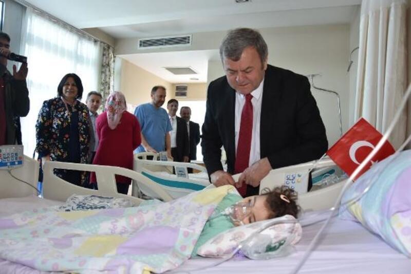 23 Nisan Çocuk bayramını hastanede yaşadılar