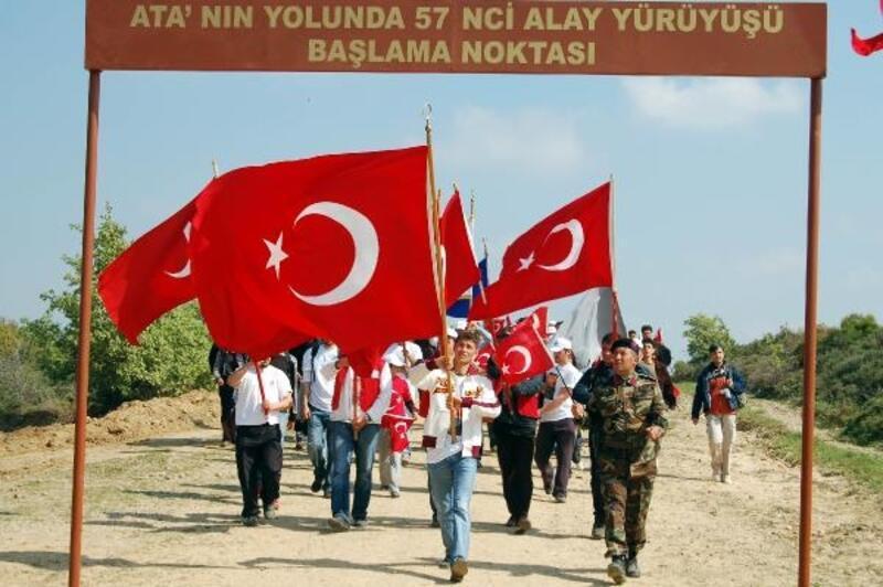 19 yıl önce ilk 'Ata'nın yolunda 57'nci Alay Yürüyüşü'nü organize eden albay o günü anlattı