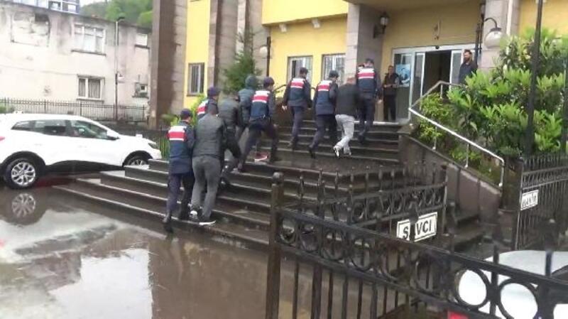 Artvin merkezli uyuşturucu operasyonunda 4 kişi tutuklandı