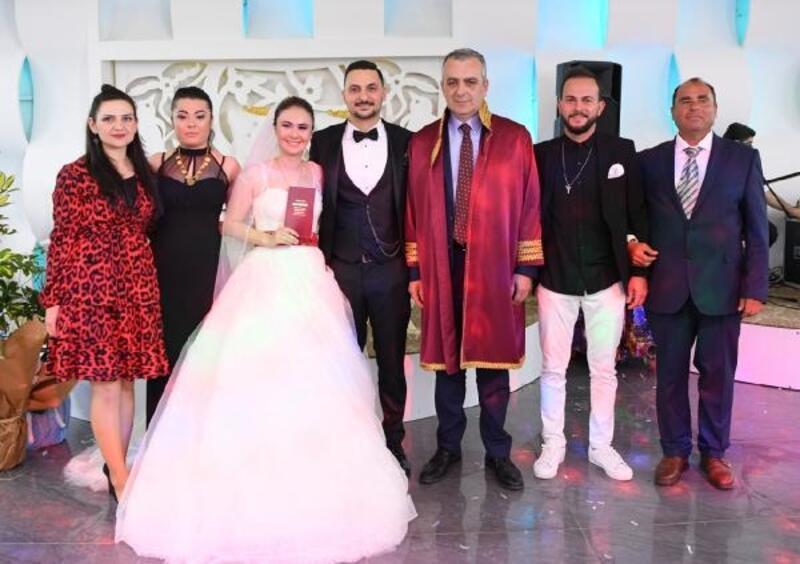 Başkan Esen, nikah kıydı