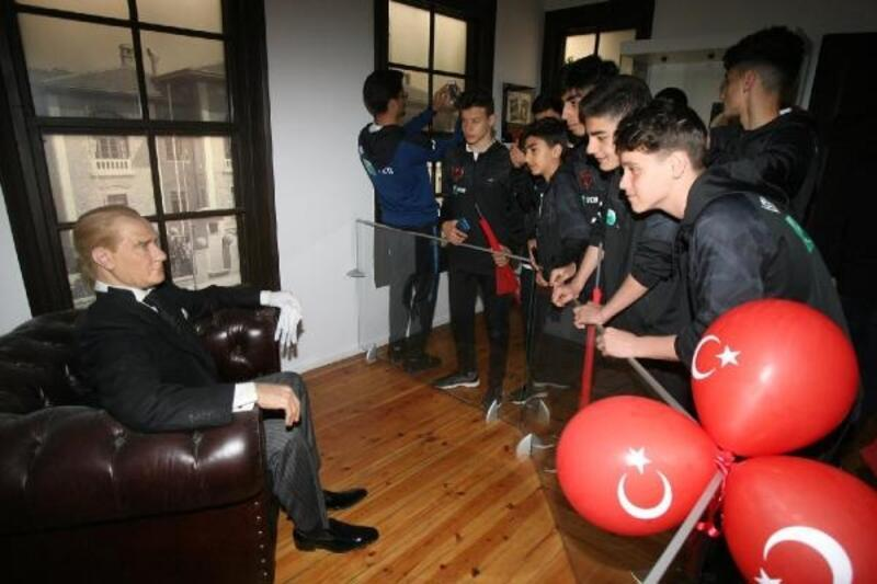 İstanbul Kastamonuspor Atatürk'ün evinde