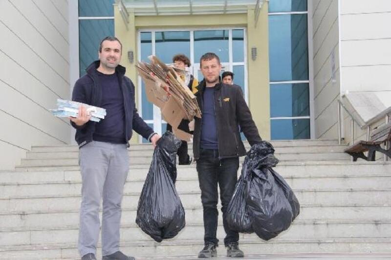 Kırklareli Üniversitesi'nde, 'Sıfır Atık Projesi' başladı