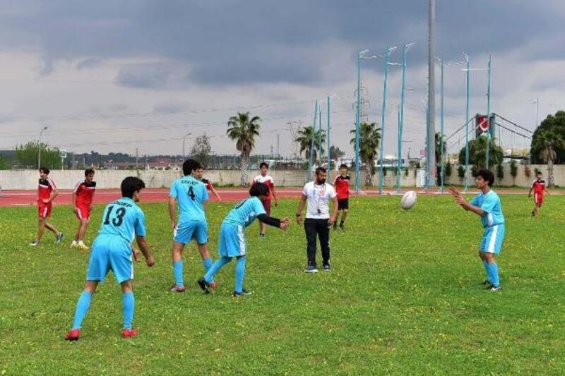 Rugby sporcu artık Osmaniye'de