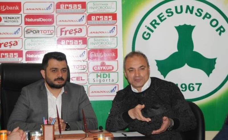 Giresunspor'da teknik direktör Erkan Sözeri imzaladı