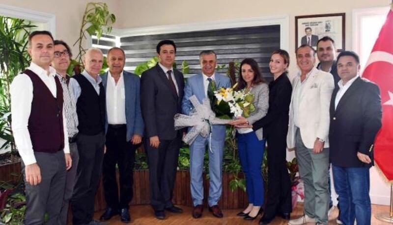 KETOB'dan Başkan Topaloğlu'na ziyaret