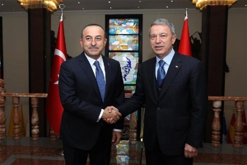 Akar ve Çavuşoğlu başkanlığında değerlendirme toplantısı