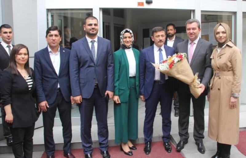 AK Parti'li Dağ'dan Bergama ve Kınık'a ziyaret