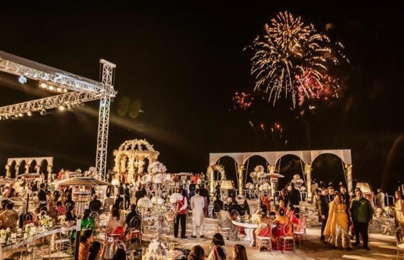 Antalya'da, 11 günde 4 Hint düğünü