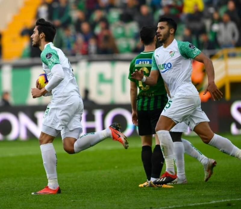 Bursaspor'dan en fazla gol Akhisarspor'a
