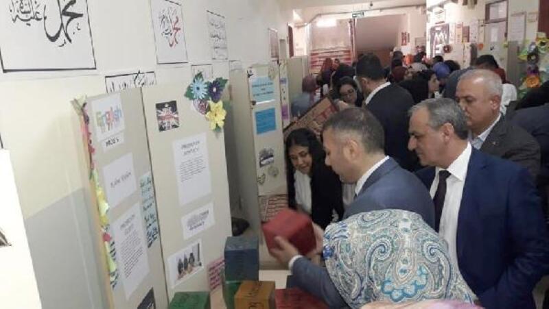 İslahiye'de Bilim fuarında 20 proje görücüye çıktı