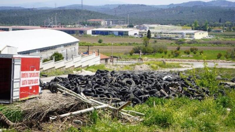 Ömrünü tamamlamış 20 bin lastik geri dönüşüme gönderildi