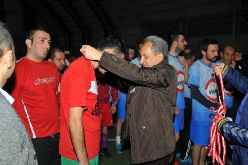 Şipitin Çıksın Kurumlar Futbol Turnuvası şampiyonu Devlet Hastanesi oldu