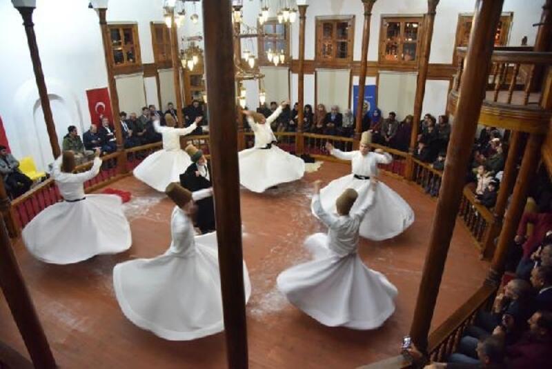 Tokat'ta 'Mevlana' programı düzenlendi