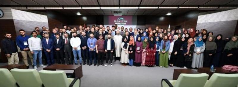 Diyanet İşleri Başkanı Erbaş'tan UİP öğrencilerine: Camileri mektep haline getirin
