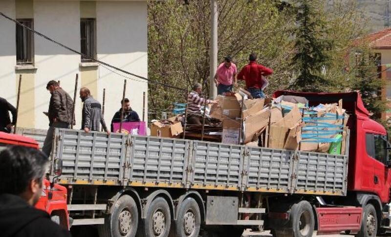Ilgaz'da 6 ayda 13 ton atık toplandı