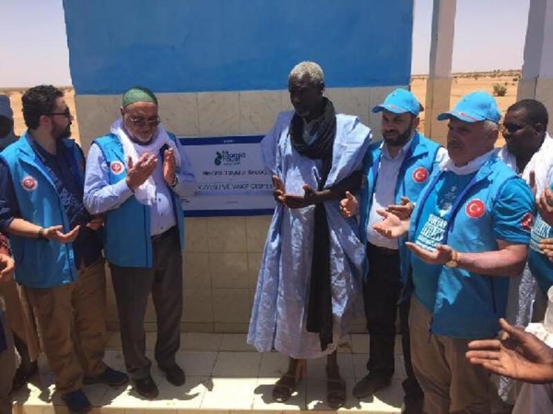 Afrika'da Rize adına 11 su kuyusu açıldı