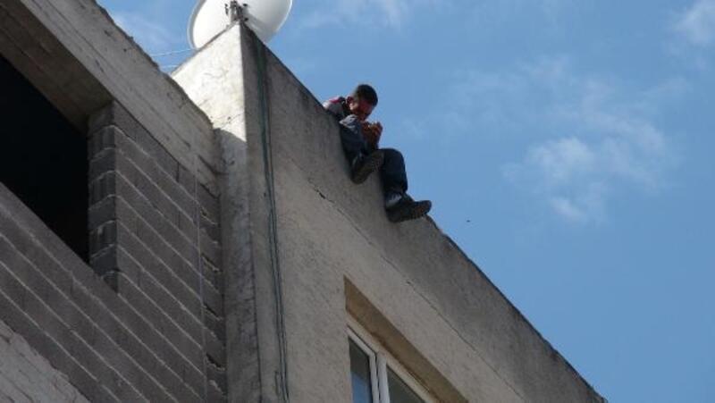 Kilis'te intihar etmek isteyen kişiyi polis kurtardı