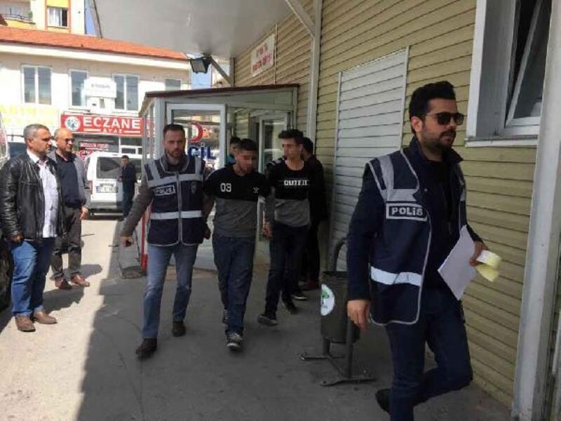 Gaziantep'te hırsızlık şüphelileri yakalandı
