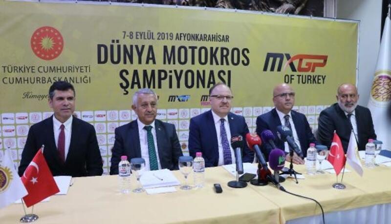 Dünya Motokros Şampiyonası Afyonkarahisar'da