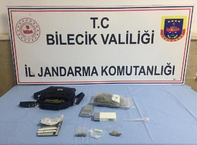 Bilecik'te uyuşturucu operasyonu
