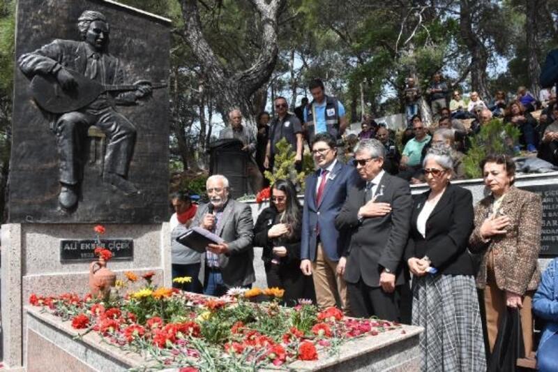Sanatçı Ali Ekber Çiçek, Edremit'te anıldı