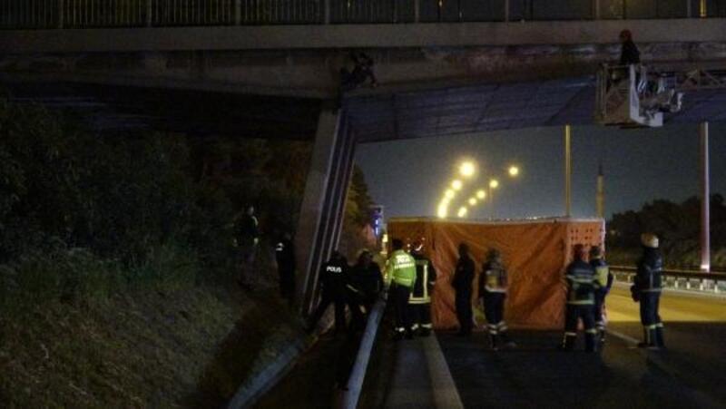TEM'de intihara kalkıştı, 15 kilometrelik araç kuyruğu oluştu