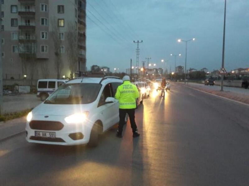 Kayseri'de 100 polisle asayiş uygulaması