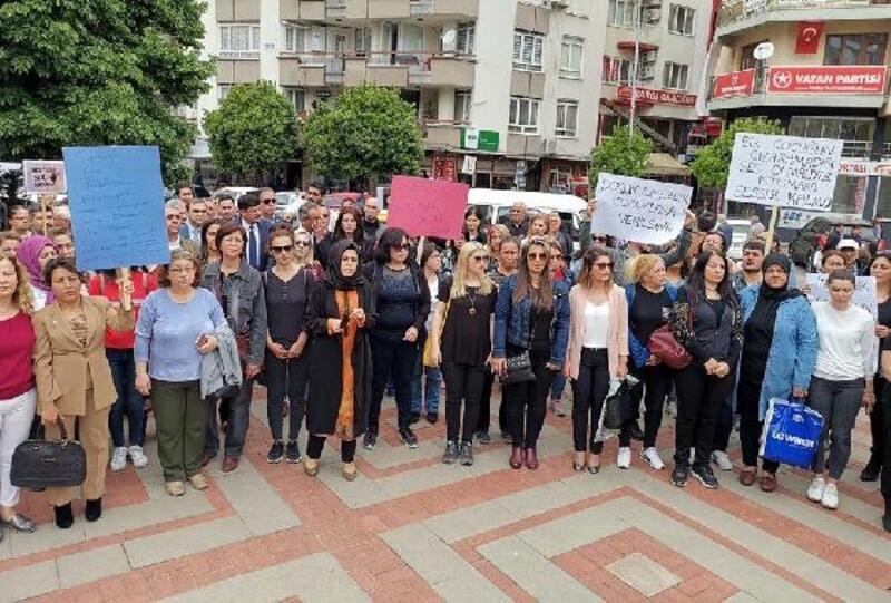 Nazillililer çocuk istismarına tepki için yürüdü