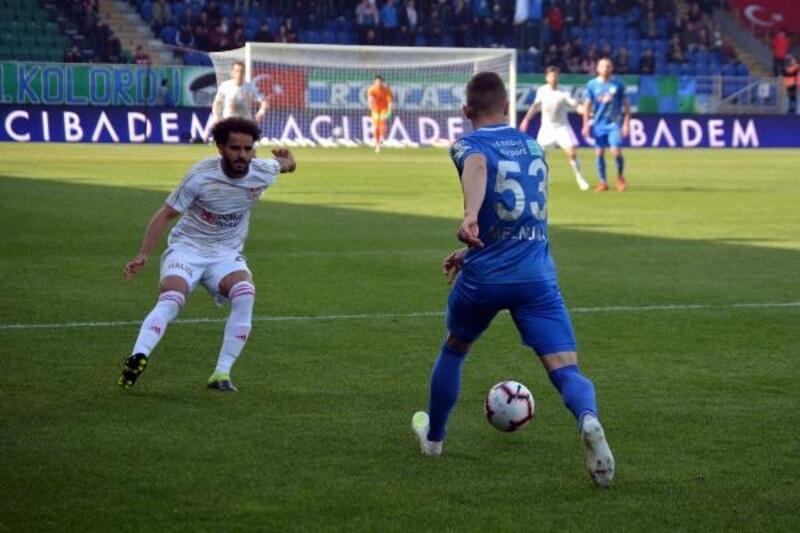 Çaykur Rizespor - Demir Grup Sivasspor: 0-0