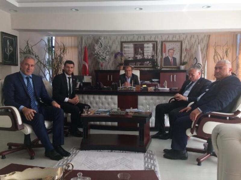 Başkan Karagöl, DOKAP'ı ziyaret etti