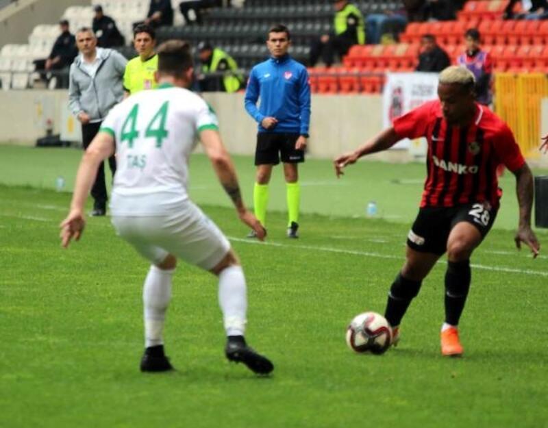 Gazişehir Gaziantep - Giresunspor: 2-2