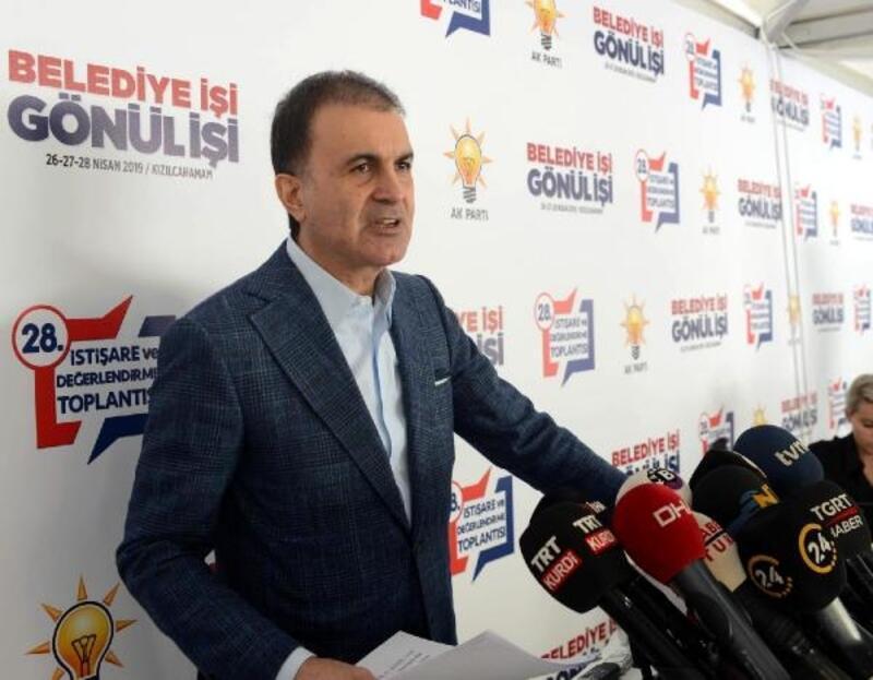 Çelik: Yapmaya çalıştıkları; eylemin arkasında AK Parti'yi göstermeye çalışmak