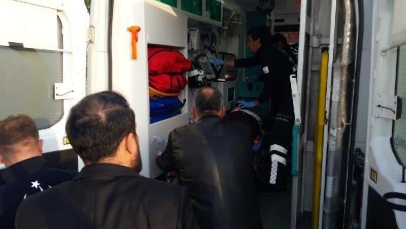Motosikletin çarptığı genç kız, ağır yaralandı