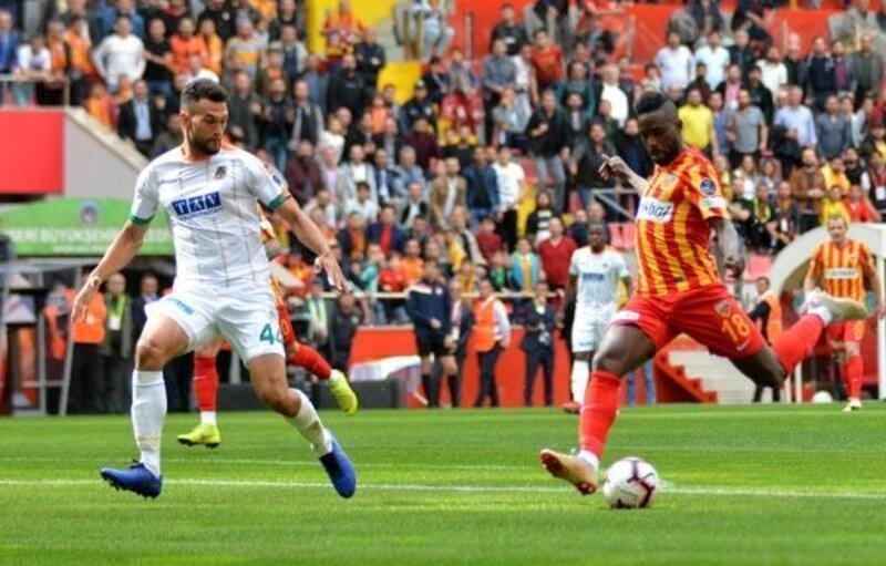 İstikbal Mobilya Kayserispor - Aytemiz Alanyaspor: 1-1