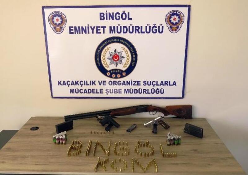 Bingöl ve Muş'ta silah kaçakçılığı operasyonu: 14 gözaltı