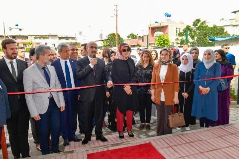Vali Mahmut Demirtaş,Kadın Kültür Evi'nin açılışını gerçekleştirdi