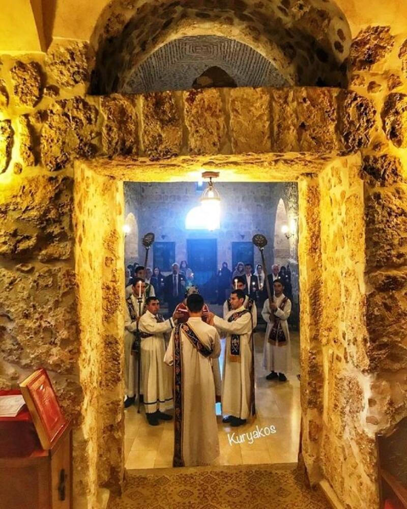 Tarihi Kırklar Kilisesi'nde Paskalya Bayramı kutlandı