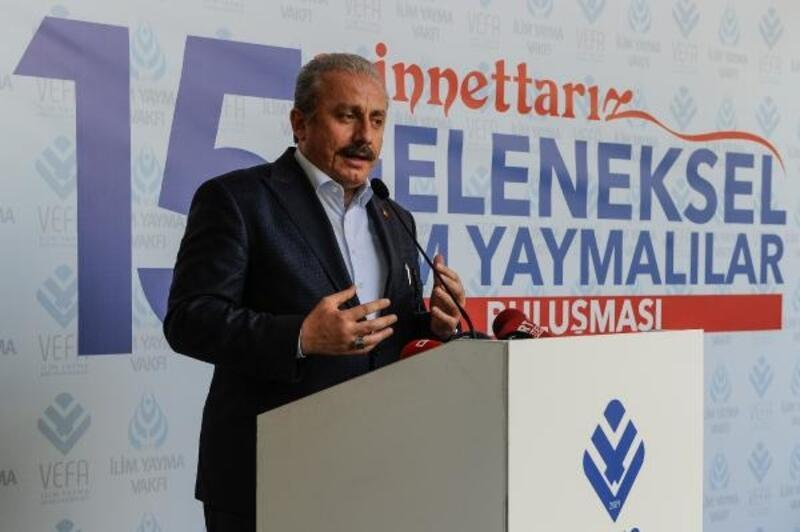 TBMM Başkanı Şentop:Bugünküçatışmalar, pozisyon alma çatışmalarına dönüştü